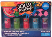 Jolly Rancher Scented Nail Polish Set with Toe Separator & Nail File
