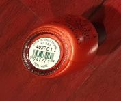 Orange You Going to The Game. NL BB3 Nail Polish Lacquer 150ml - 1 Bottle.