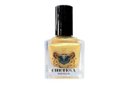 CHETESA Gems Collector Nail Lacquer Non-Toxic, Gold Pearls, 15ml
