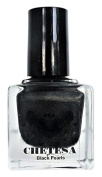 CHETESA Gems Collector Nail Lacquer Non-Toxic, Black Pearls, 15ml