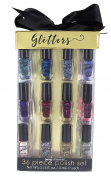 Onyx Professional Nail Polish Set - Includes Glitter Polishes, High Gloss Polishes, Neon Polishes and Shimmer Polishes