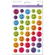 SS057A 3D GEL FOIL STICKER-HAPPY FACE