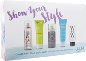ULTA Show your Style shampoo, curl styler, shine mist, styling cream, transformation cream, 5pc hair styling Kit