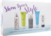 ULTA Show your Style shampoo, curl styler, shine mist, styling cream, transformation cream, 5pc hair styling Kit