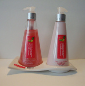 Fruits & Passion Hand Care Duo GRAPEFRUIT GUAVA Set - Hand Soap 240ml & Hand Lotion 180ml Made in Canada