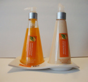 Fruits & Passion Hand Care Duo ORANGE CANTALOUPE Set - Hand Soap 240ml & Hand Lotion 180ml Made in Canada