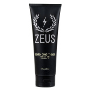 Zeus Beard Conditioner Wash for Men - 240ml - Sulphate-Free, Rinse-Out Softener (Scent