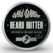 Beard Balm Conditioner For Men - Wild Willie's Beard Butter - Amazing Beard Balm with 13 Natural Locally Sourced Ingredients to Condition and Treat Your Beard or Moustache At the Same Time. .150ml