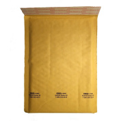 6 x 10 Self-Seal Bubble Mailers Size #0 by Uline