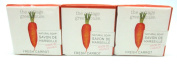 The Cottage Greenhouse Set of 3 Fresh Carrot Soap