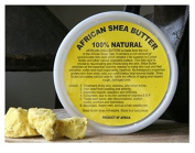 50 Pack - African Shea Butter Cream (100% Pure & Raw, Gold) 240ml By HalalEveryDay