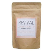 Revival Body Scrub, Coffee & Rosehip, 240ml