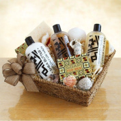 Shea Butter Spa Gift Basket for Men