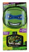 Kids Character Body Wash Buddy With Scrubby (Teenage Mutant Ninja Turtles
