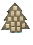 12 Soaps of Christmas Sugared Spruce Scented Guest Soaps