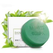 Baimiss Tea Tree Acne Treatment Facial Soap 80g for Men Women
