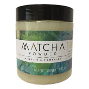 Asquith and Somerset Matcha Powder Hydrating and Exfoliating Salt Scrub 570ml
