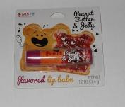 Taste Beauty Flavoured Lip Balm - Peanut Butter & Jelly Flavoured Lip Balm