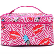 Shineweb Portable Travel Makeup Case Cosmetic Hand Bag Tool Storage Toiletry