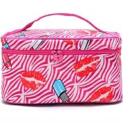Shineweb Portable Travel Makeup Case Cosmetic Hand Bag Tool Storage Toiletry
