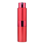 MUB Twist-Up Perfume Atomizer,15ml Empty Spray Perfume Bottle for Travelling with Perfume or Essential Oils