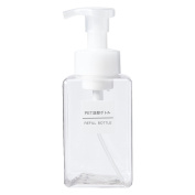 MUJI JAPAN, PET Refill Bottle Foam Type Clear/transparent · 400ml