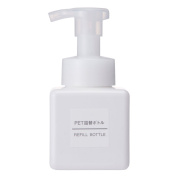MUJI JAPAN, PET Refill Soap Bottle, Foam Type, White · 250ml
