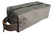 Gentleman Jon Canvas and Leather Shaving Dopp Kit | Travel Toiletry Bag