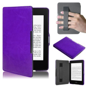 For Kindle Paperwhite Case, HP95(TM) Premiu Ultra Slim Leather Smart Case Cover with Hand Belt For New Amazon Kindle Paperwhite 5