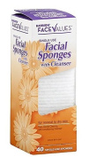 Harmon Face Values 40-Count Cleanser Facial Sponges