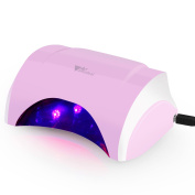 Amzdeal Professional Nail Polish Curing Lamp, Gel Polish LED Lamp, Nail Dryer