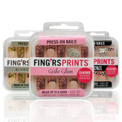 Fingrs Prints Press-On Nails Set