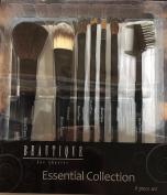 Beautique Makeup Cosmetic Brush Set (8pc Set) Essential Collection