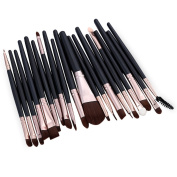 BeautyGal Professional 20pcs Makeup Eye Brush Set Cosmetic Kits Tool