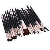 BeautyGal Professional 20pcs Makeup Eye Brush Set Cosmetic Kits Tool