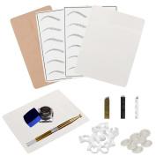 Vovotrade Microblading Permanent 3D Makeup Eyebrow Tattoo Needle Pen Pigment Kit