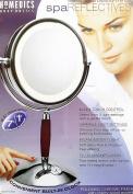 HoMedics M-8006 Spa Reflectives Illuminated Beauty Mirror with 7/1x Magnification
