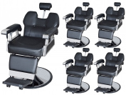 TMS LOT 5~All Purpose Hydraulic Reclining Barber Chair Salon Spa Equipment Wholesale