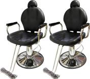 TMS LOT 2~All Purpose Reclining Hydraulic Barber Chair Salon Beauty Shampoo Equipment
