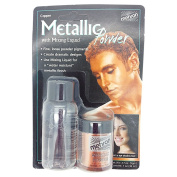 Mehron Metallic Powder & Mixing Liquid Carded Set Copper
