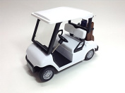 Golf Crat golf cart pull back action white [parallel import goods]