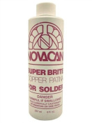 Novacan Super Brite Copper Patina For Solder 240ml Stained Glass Supplies