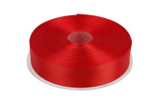 Red Satin Ribbon. High End Thick . 2.5cm 50 Yards Roll Ribbons