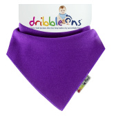 DribbleOns Bib - 0-24 Months, Grape