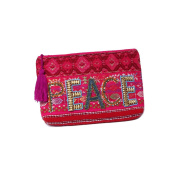 'Ale By Alessandra Women's Peace Of Cake Hand Embroidered Beaded Clutch
