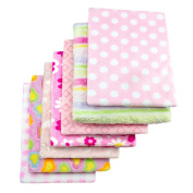 Cosy Fleece Baby Blankets for Girl, Assorted