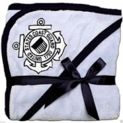 U.S. Coast Guard Licenced Logo Soft Fleece Baby Blanket