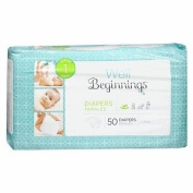 Well Beginnings Premium Nappies Jumbo, 1 50 ea
