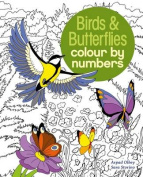 Colour by Numbers Birds & Butterflies