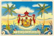 Hawaiian Vintage Postcards Pack of 30 - Aloha Nui Coat of Arms